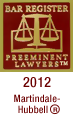 2012 Bar Register Preeminent Lawyers Logo